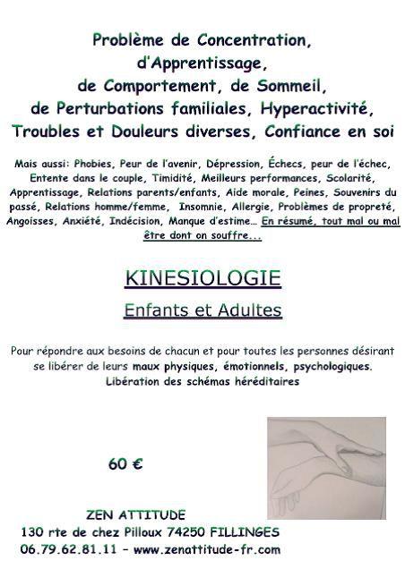 News Kinésiologie !!